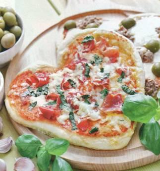 Пицца для влюбленных рецепт, Как приготовить пиццу для влюбленных