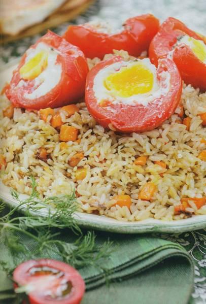 Вегетарианский плов рецепт | Как приготовить вегетарианский плов
