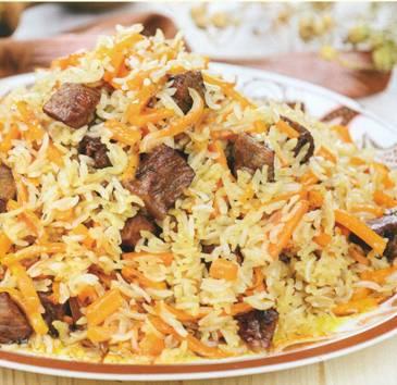 Плов с жареным рисом рецепт | Как приготовить плов с жареным рисом
