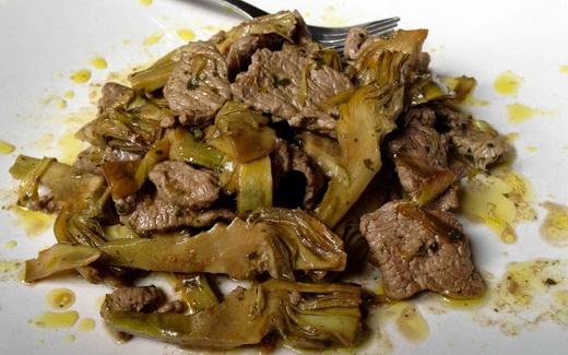 Блюдо из говяжьей печени