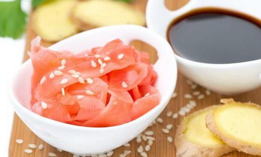 Имбирь для суши маринованный