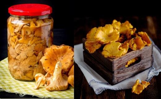Простые соленые грибы