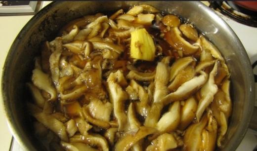 Как варить грибы