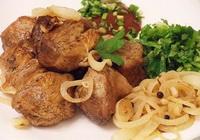 Быстрый шашлык на сковороде из свинины