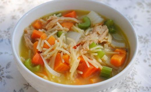 рецепт вермишелевого супа без мяса