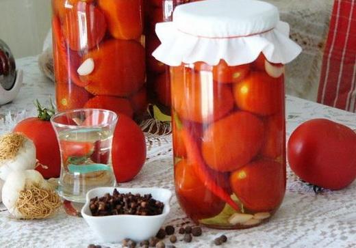 Соленые помидорки