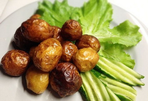 Картофель с корочкой