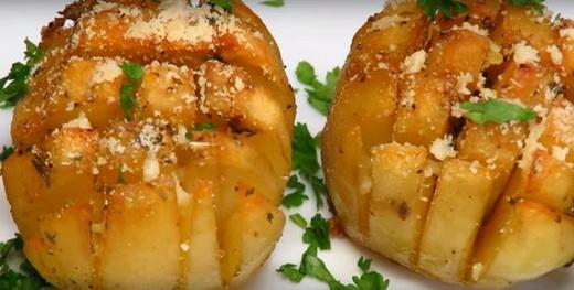 Картофель целиком