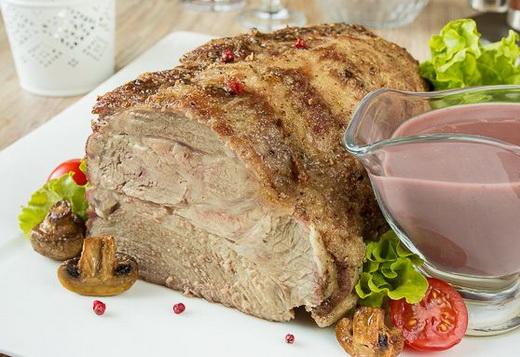 Мясо свинины шейка в духовке 3