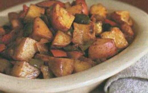 Острая картошка