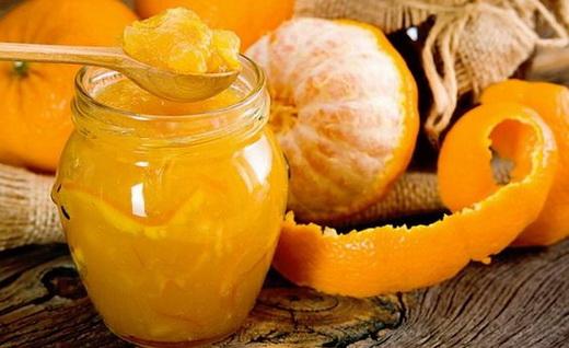 Апельсиновое варенье с кабачками