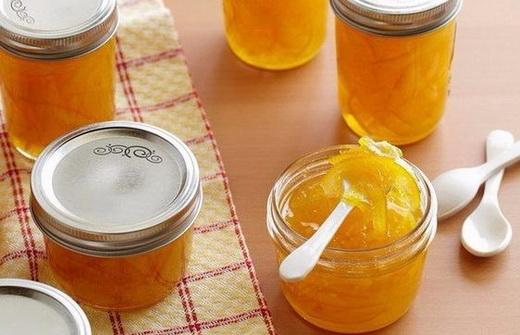Апельсиновый джем с имбирем на зиму