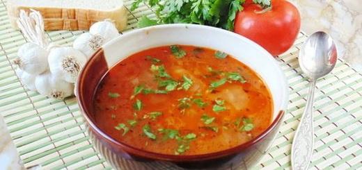 суп харчо с грецкими орехами рецепт приготовления в домашних условиях