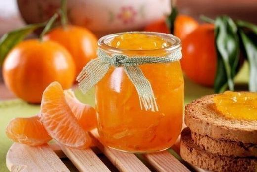 Варенье на фруктозе из мандаринов