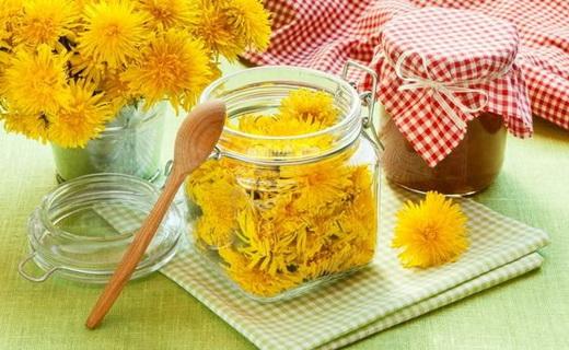 Варенье на зиму из цветков одуванчика