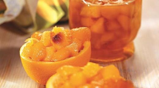 Персиковое варенье с лимонной кислотой