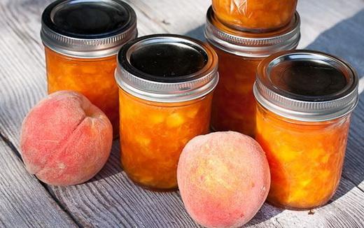 Джем из персиков на зиму