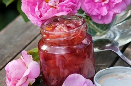 Варенье с лимонной кислотой из лепестков роз