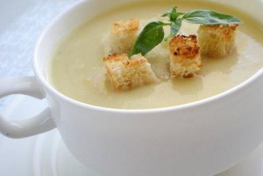 Тарелка супа-пюре