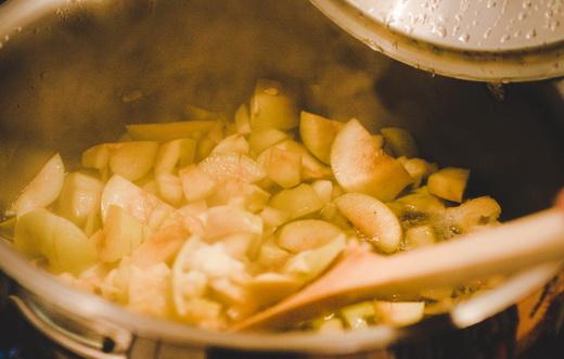 Замороженное яблочное варенье