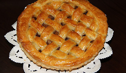 Яблочный пирог быстрого приготовления