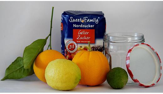 Лимонный или апельсиновый джем