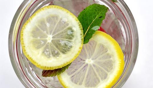 Лимонный безалкогольный коктейль