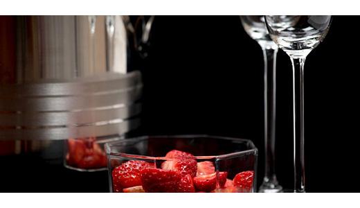 Клубничное вино домашнее