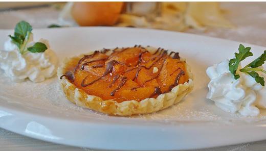 Слоеный пирог с абрикосовым вареньем