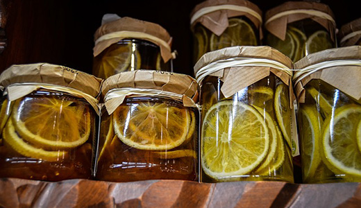 Лимонный джем с сахаром