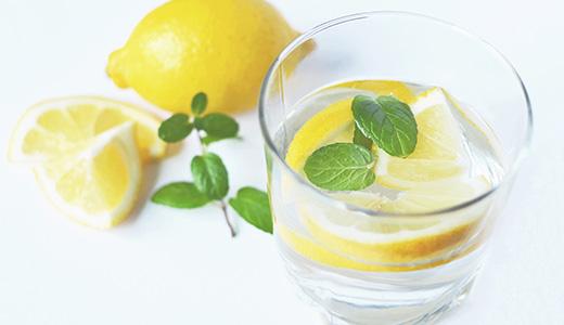 Лимонный коктейль с текилой