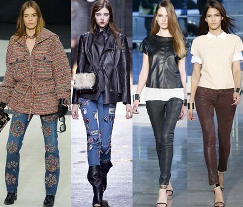 Модные джинсы весна - лето 2015