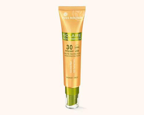 Солнцезащитный Антивозрастной Крем для Лица SPF 30