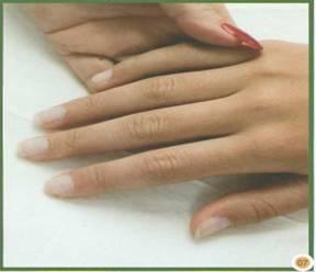 Как наращивать ногти с помощью стекловолокна   Гелевое наращивание ногтей с применением стекловолокна   Фото