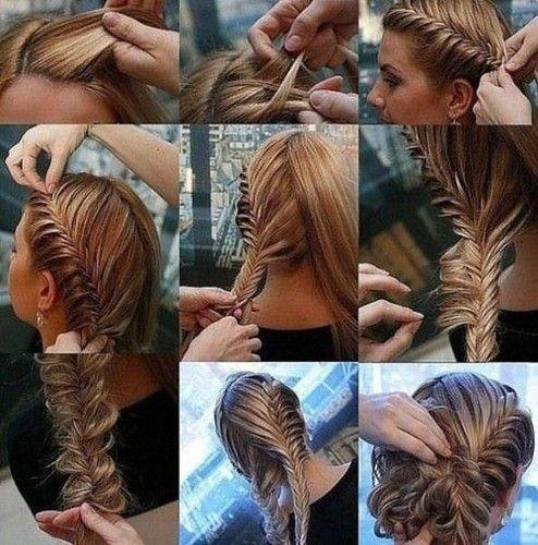 Картинка волосы заплетенные в косу