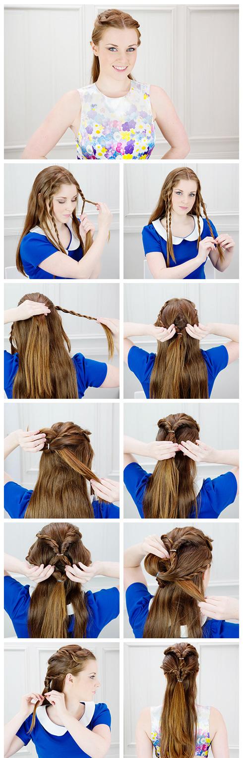 Мк причёсок на длинные волосы