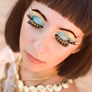 Как сделать необычный макияж | Видео-урок