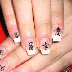Дизайн ногтей китайская роспись | Видео пошагово