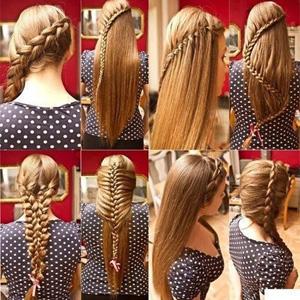 Колоски на длинные волосы | Колоски на короткие волосы | Фото и Видео