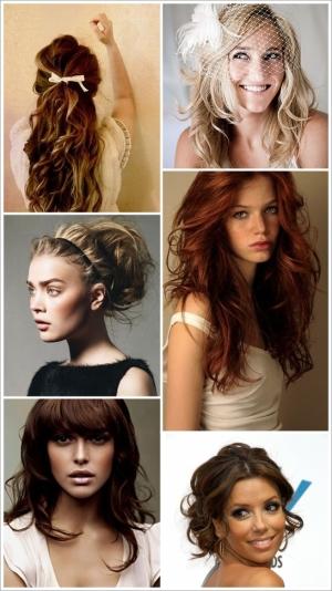 прическа на средние волосы с объемом фото