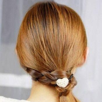 Прическа Хвост для длинных волос | Прическа Хвост для средних волос | Фото и Видео