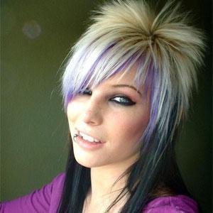 Эмо стрижки на длинные, средние, короткие волосы | Видео