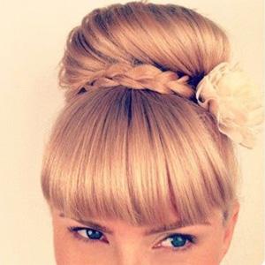 Высокие прически для средних волос | Фото-урок и Видео пошагово