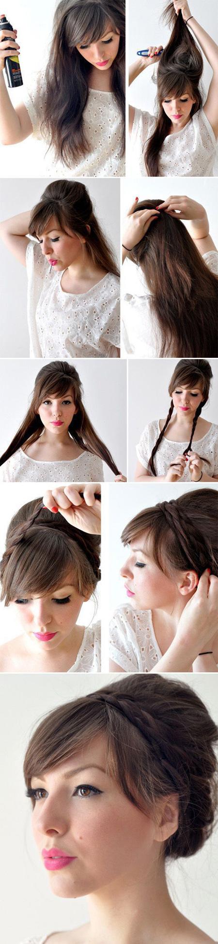 Прическа греческая на длинные волосы видео уроки