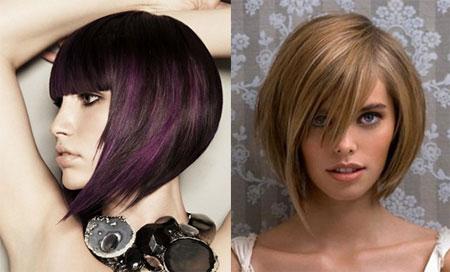 стрижки на средние волосы типа каре