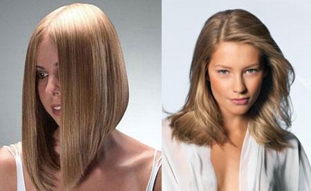 Стрижки на длинные волосы одна сторона короче другой