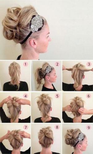 флто писесок для соедних волос на ровый год