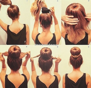 Прически на средние волосы видео-уроки