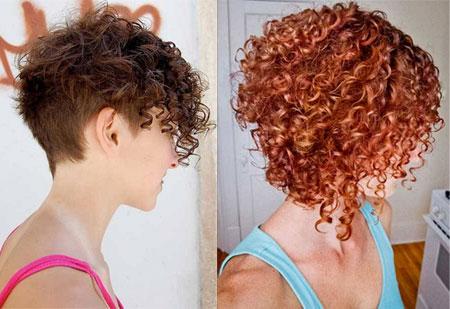 Прическа на вьющиеся волосы  видео 177