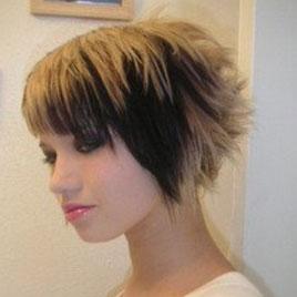 Эмо стрижки на средние волосы